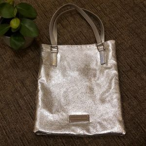 Marc by Marc Jacob's metallic tote